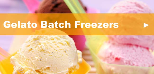 Gelato Batch Freezers