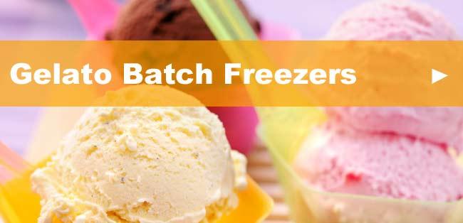 Gelato Batch Freezers